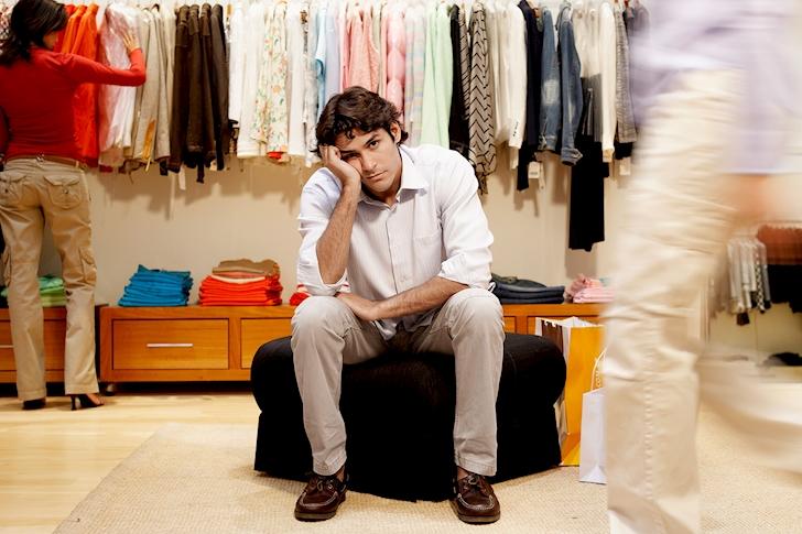 Chuyện mua sắm của đàn ông trưởng thành