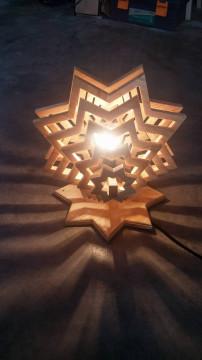 Đèn thả trần ngôi sao