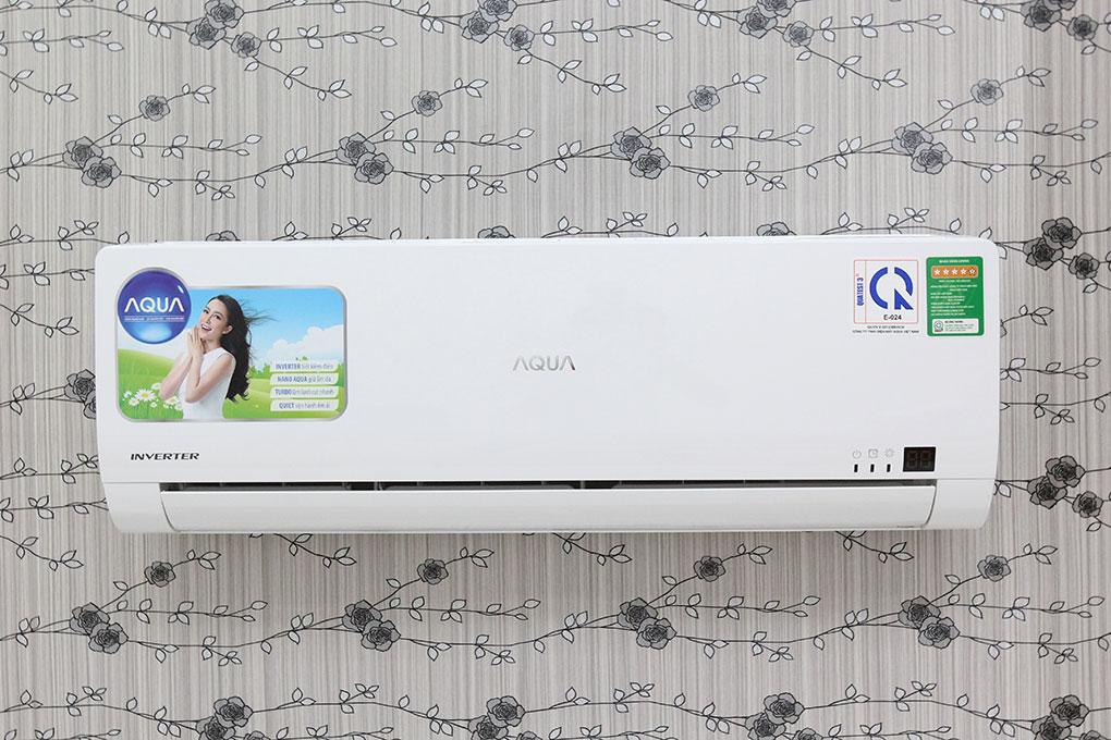 Máy lạnh Aqua 1 HP Inverter AQA-KCRV9WGS